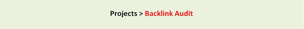 Semrush Backlink Audit