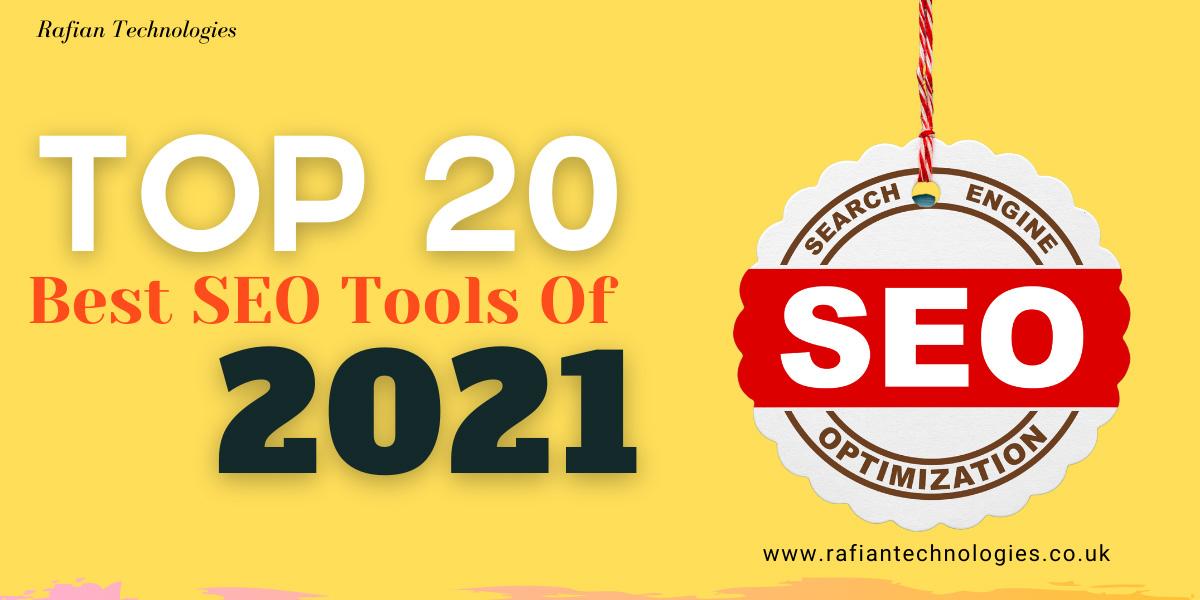 Top 20 Best SEO Tools Of 2021