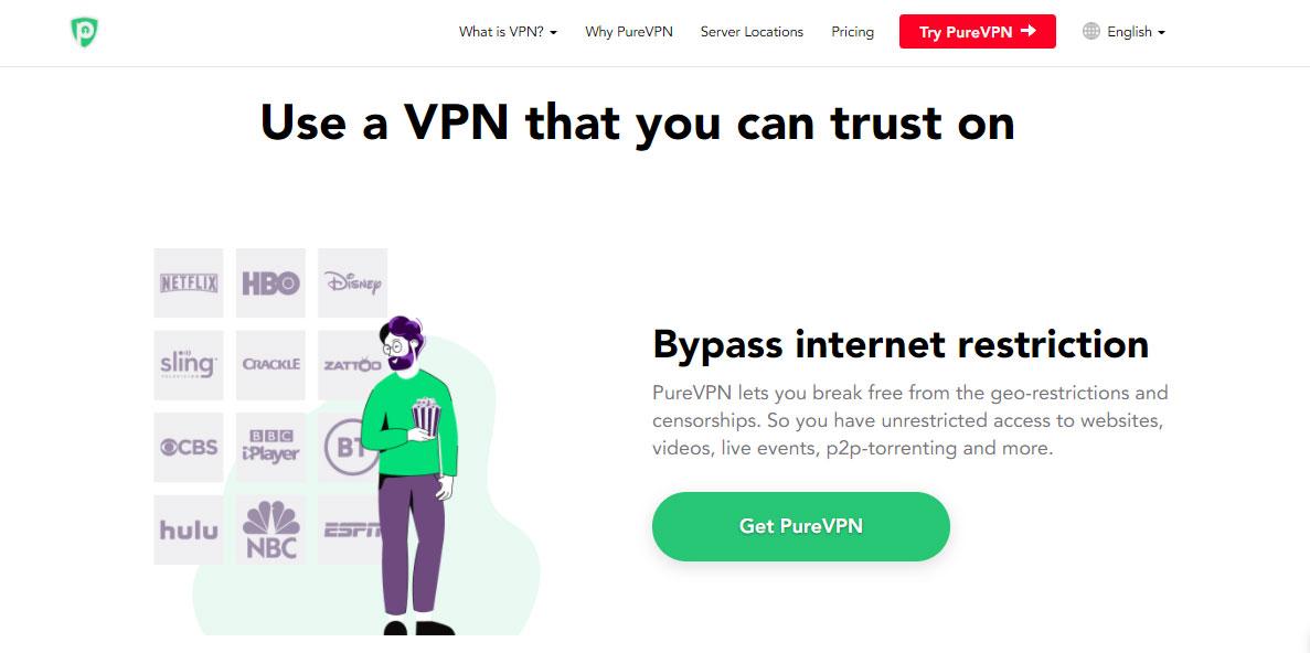 PureVPN Best VPN 2021