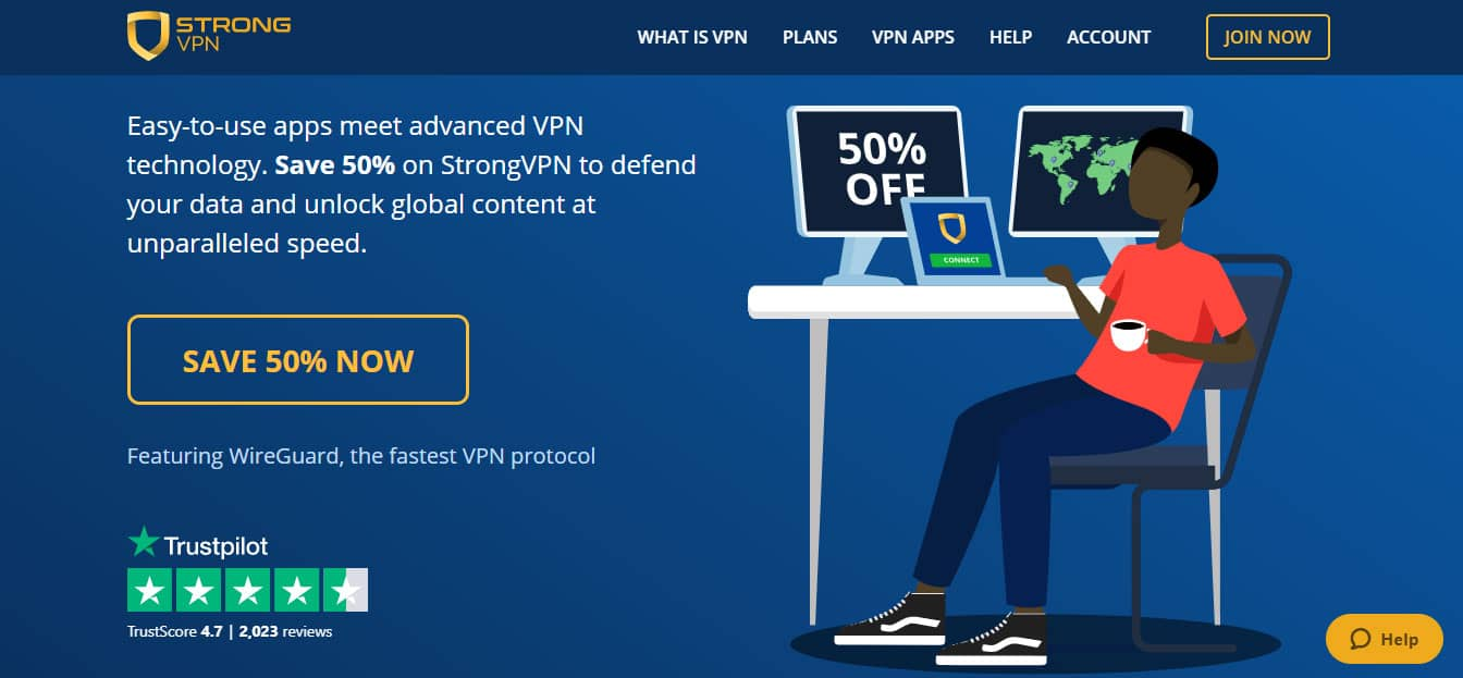 Strong VPN Best VPN 2021