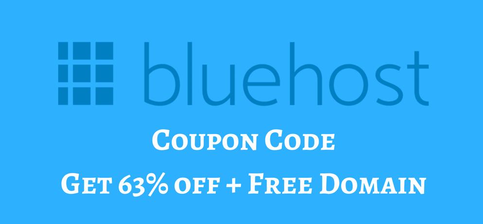 Blue Host Coupon