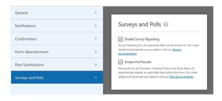 Smart Survey Fields